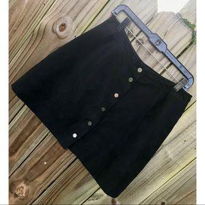 SZ 10 H&M A-line button up skirt